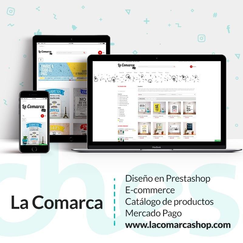 Desarrollo web La Comarca